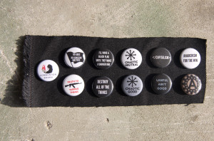 Radical Nerdy Buttons Pack