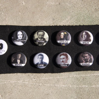 Steampunk Heroes Button Pack
